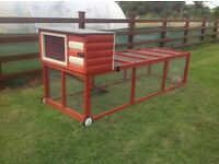 Quality pet enclosures bird aviaries/rabbit runs/ hen/chicken coops