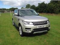 Land Rover Range Rover Sport SDV6 HSE (gold) 2014-01-17