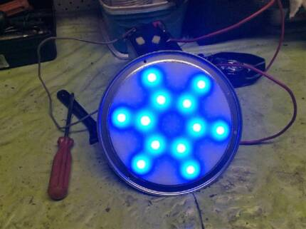 2  X  Large LED lights suitable caravan