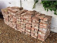 Free reclaimed red bricks