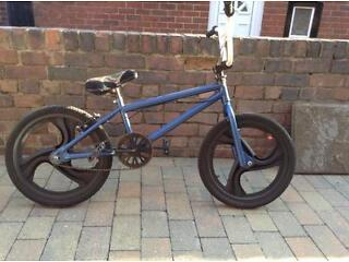 Custom BMX bike with mags