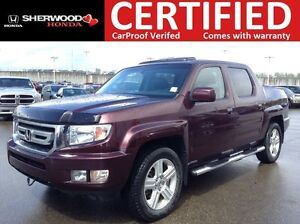 2011 Honda Ridgeline EX-L 4x4 | HEATED LEATHER | AC | SUNROOF |