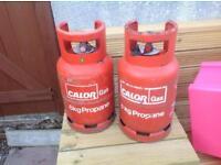 Cal or gas bottles