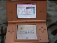 Pink nintendo ds. with soft case and charger. £25.00