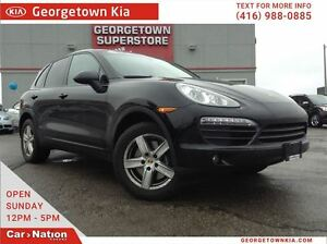 2014 Porsche Cayenne NAVI | SUNROOF | ONLY 47, 454KMS | IMMACULA