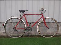 mans classic bike