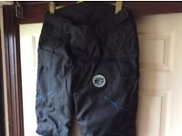 Oxford bone dry all weather motorcycle trousers Excellent Condition