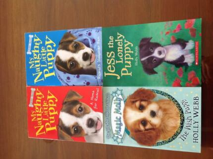 Holly Webb 4 puppy books