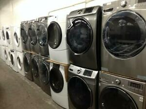 BRAND NEW WASHER/DRYER SETS- UNBOXED- OPEN MON-SAT 10AM-6PM - 16665 111 AVE - 1 YEAR WARRANTY