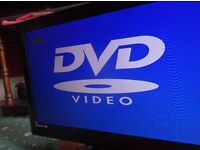22 inch tv/dvd combi used condition
