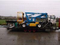 Niftylift HR12 m BI Energy Diesel / Electric access platform / boom / scissor lift / genie / jlg