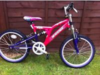 Girls excel bike