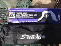 Brand new golf practice net