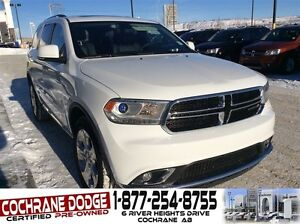 2015 Dodge Durango Limited with DUAL HEADREST DVD AND SUNROOF!