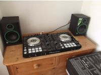 Pioneer DJ Digital DJ-SR includes Serato DJ - CR4 Monitor Speakers £380 (or nearest sensible offer)