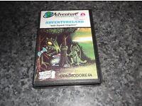 ADVENTURELAND COMMODORE CBM 64 GAME