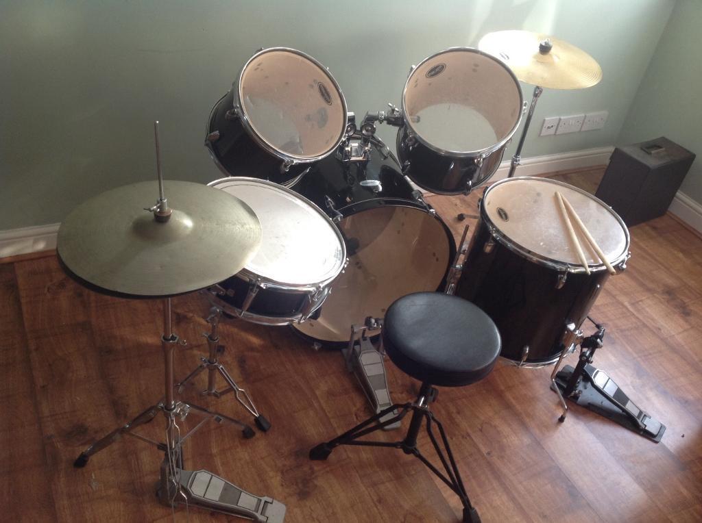Starcaster Fender Drum Set For Sale In Rugeley Staffordshire Gumtree