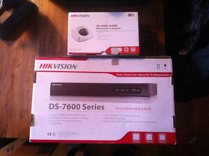 HD DVR and Security Camera