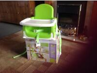 2 Booster Toddler Seats