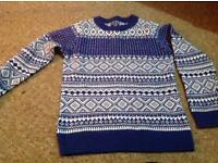 Next Christmas jumper - Age 8, in immaculate condition