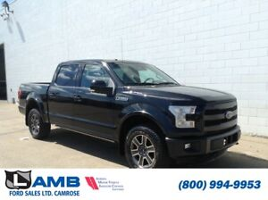 2015 Ford F-150 Lariat 4x4 with Moonroof, BLIS, Navigation and T