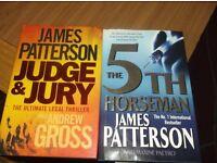 2 James Patterson Books