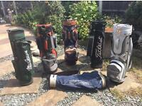 CHOICE OF GOLF BAGS now £3 each