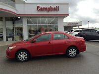 2013 Toyota Corolla CE ONLY 19,000 KM'S 1 OWNER LOCAL TRADE
