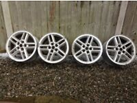 """Land rover discovery 2 18"""" 18 inch Hurricane, alloy Wheels rims alloys set of 4"""