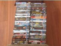 QUANTITY 63 DVDS
