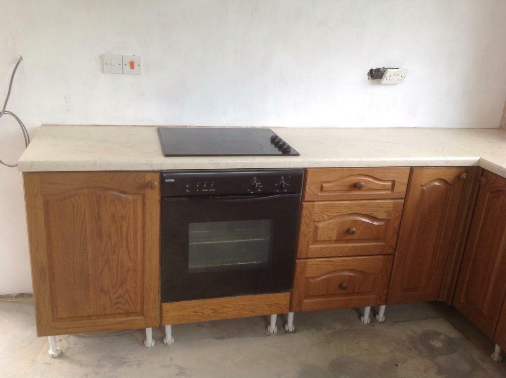 used oak effect kitchen doors buy sale and trade ads