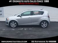 2015 Chevrolet Sonic Sunroof,Heated Seats,Remote Start,Rear Came