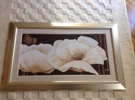 Ex show home framed art