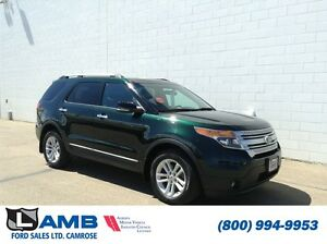 2013 Ford Explorer XLT Leather Moonroof Trailer Tow SYNC MyFord