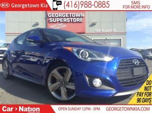 2013 Hyundai Veloster Turbo | NAVI | PANO ROOF | LEATHER | BACK