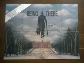 being there ' original 1980s cinema poster