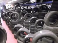 OPEN 7 DAYS ** OVER 3000 P/WORNTYRES FOR ALL CARS VANS 4x4s ***TEXT SIZE FOR PRICE & AVAIL ** punc£8