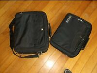 Two laptop computer cases