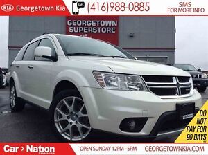 2013 Dodge Journey R/T   NAVI   LEATHER   ROOF   AWD   BACK UP C