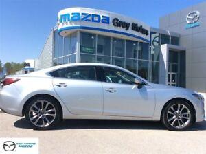 2016 Mazda Mazda6 GT, Leather, Navigation, Sunroof, One owner!