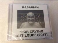 Kasabian For Crying Out Loud (2017) CD - unopened