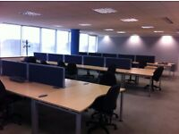 56 - CALL CENTRE BENCH DESKS - SMALLER ONES - 1200MM X 700MM - IN MAPLE
