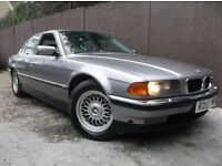 1998 (R) BMW 7 SERIES 740I V8 4DR AUTO FULL SERVICE HISTORY 16 STAMPS FULLY LOADED ORIGNAL ALLOYS