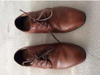 Boys River Island Smart Tan Shoes