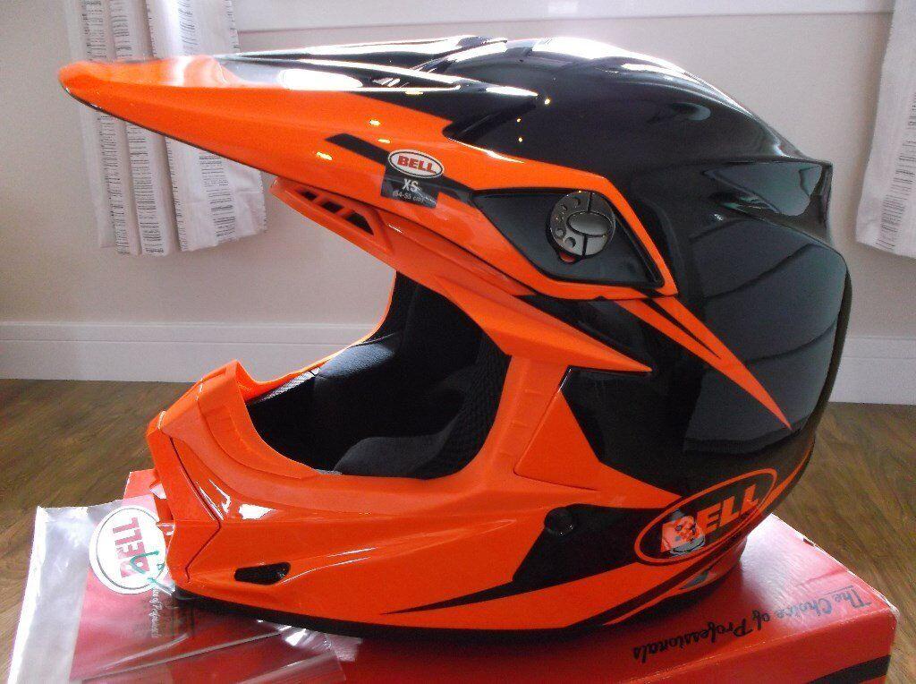 Bell Helmets 7060903 MX Moto-9R Infrared Intake Adult Helmet, XS RRP £299! New / MotoX / ATV.
