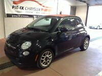 2012 Fiat 500 Pop Convertible+ Bluetooth + Air Climatisé+++