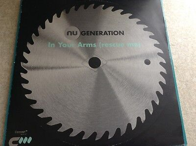 """nu generation - in your arms , rescue me , excellent condition 12"""" vinyl"""