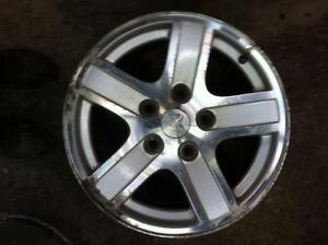 "4 - Used Alloy Dodge Durango 17"" x 8"", 5 Lug, 5.5"" Bolt Pattern Rims"