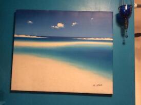 Blue sands picture