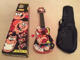 Ukulele, boxed, new with soft carry case